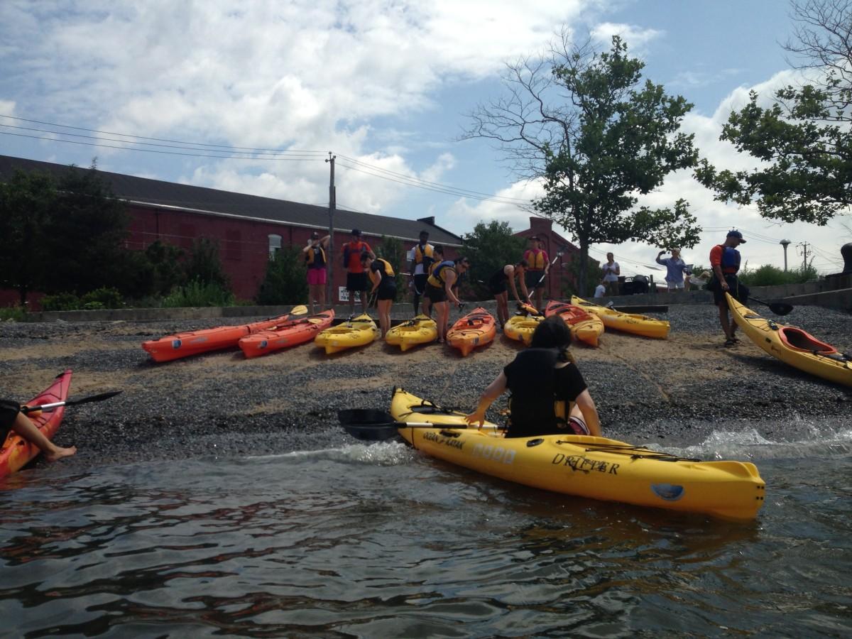 kayaking info